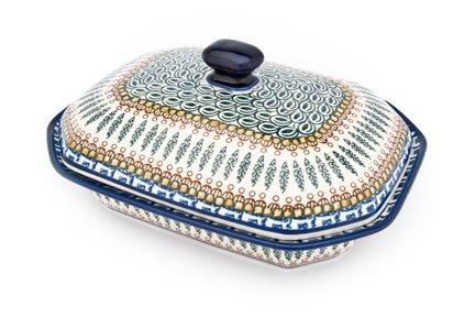 Polish Pottery Tuscany Medium Covered Baking Dish