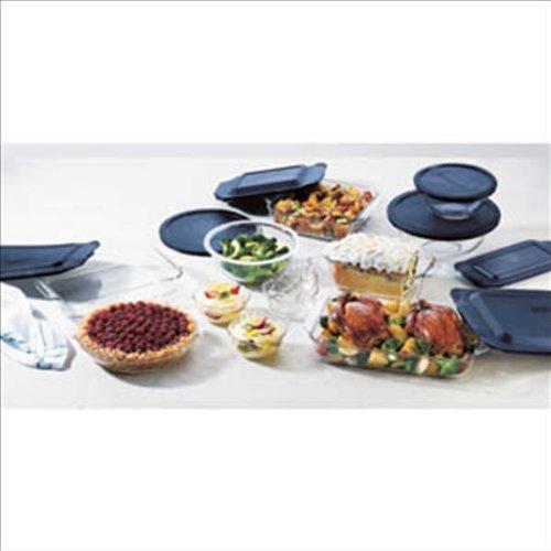 World Kitchen 1058994 Pyrex Bakeware 19-Piece Baking Dish Set Clear