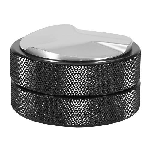 Coffee Tamper 51mm Stainless Steel Coffee Tamper Base Coffee Bean Press Tool Black for Coffee Bean Distribution 1