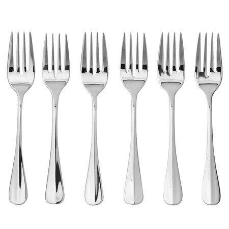 Oneida Savor Salad Forks Set of 6stainless steel silver