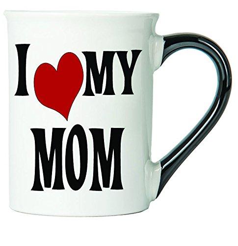 I Love My Mom Coffee Mug Ceramic Mom Coffee Cup Mom Gifts By Tumbleweed