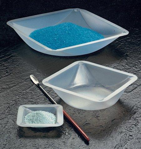 SEOH Plastic Square Weigh Boats Small Dish 500Cs