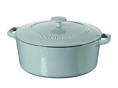 Cuisinart Casserole Cast Iron Light Blue 7-Quart