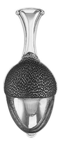 Acorn Nut Spoon  Tea Caddy Spoon - Sterling Silver