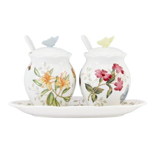 Lenox Butterfly Meadow 7-Piece Condiment Set White - 833956