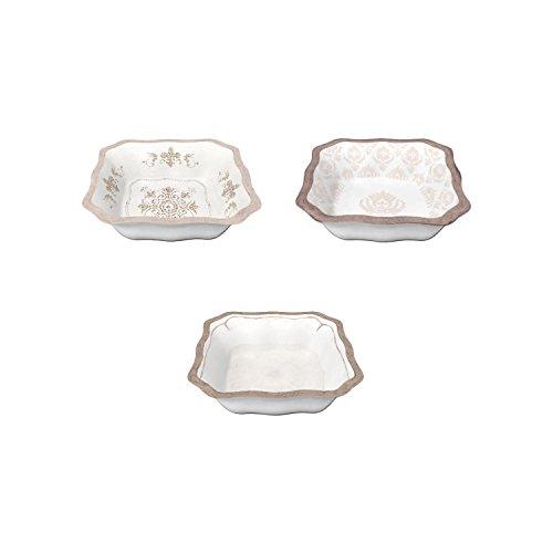 Whites Le Cadeaux Melamine Le Cadeaux Melamine 12 Assorted Condiment Bowls Set