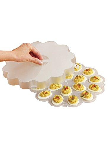 Carol Wright Gifts Plastic Deviled Egg Tray