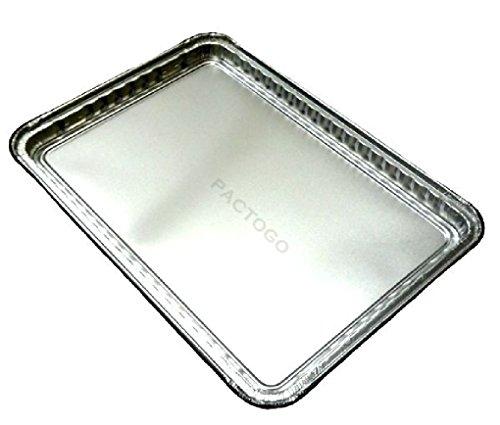Oblong Cookie Sheet Pan 16 x 11 20PK Disposable Aluminum Foil Trays 7000