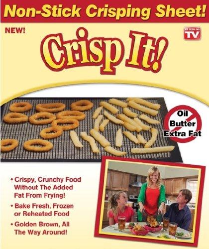 Crisp It Baking Sheet- Set of 2 Small- 10 x 7