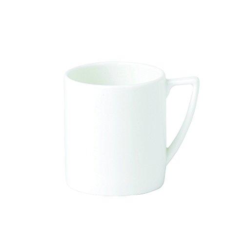 Jasper Conran by Wedgwood White Bone China Espresso Cup Plain