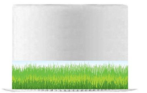 Ribbon Edible Icing or Wafer Sheet x 2 Grass Border