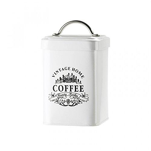 Vintage Home Coffee Metal Storage Canister