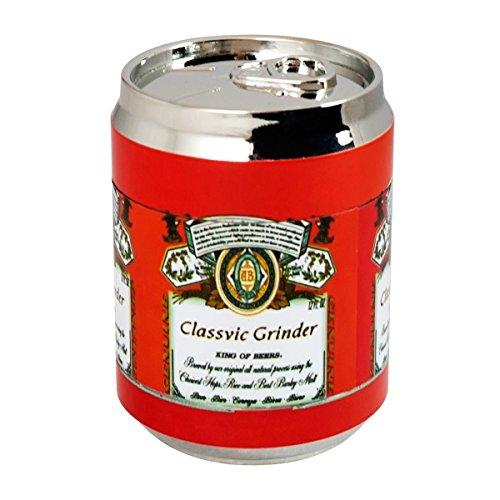 Formax420 Cola Metal Jar Tobacco Grinder Spice Mill 3 Pieces 15 inch red