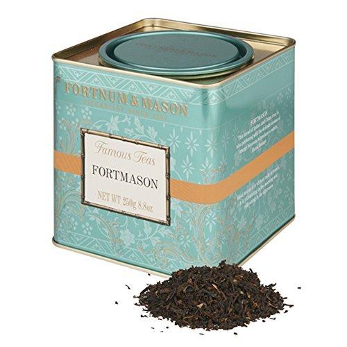 Fortnum and Mason British Tea Fortmason Blend 250g Loose English Tea in a Gift Tin Caddy 1 Pack - Seller Model Id Lfmsfl098b - USA Stock