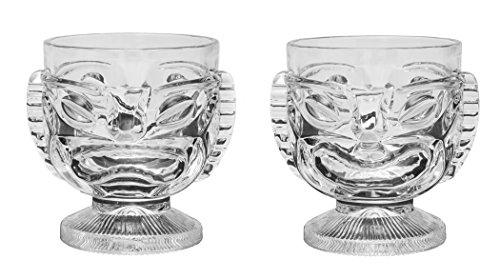 Tiki Glass - 15 oz Cocktail Mug for Mai Tai Punch Pina Colada and tropical drinks Island-themed home barware glasses 2