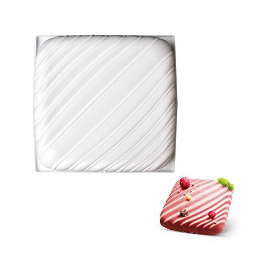 8 inch cake pan square cake pan 3d cake pan silicone cake pan white beicemania square pillow L