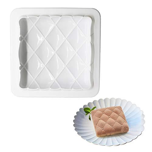 8 inch cake pan square cake pan 3d cake pan silicone cake pan white beicemania square vintage pillow L