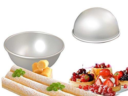 8 Inch x 4 Inch Ball Cake Pan