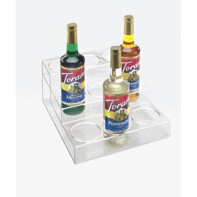 Cal-Mil P296 Acrylic Bottle Organizers 3 Tier 9 Bottle Clear