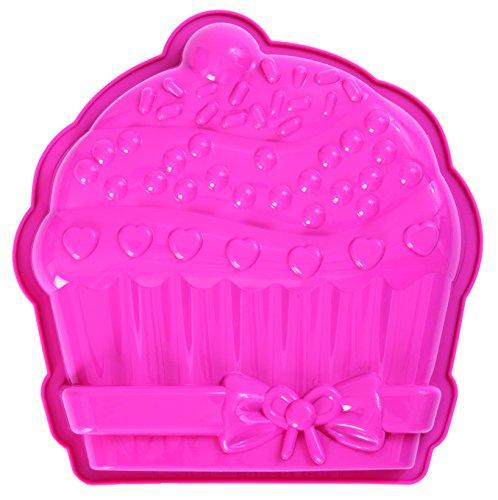 Pavoni FRT170 Platinum Silicone Cupcake Cake Mould Pink