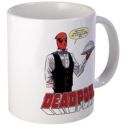 CafePress - Deadpool Silver Mug - Unique Coffee Mug Coffee Cup