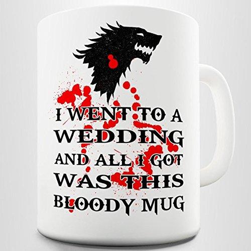 Game of Thrones Inspired Red Wedding Coffee Gift Mug