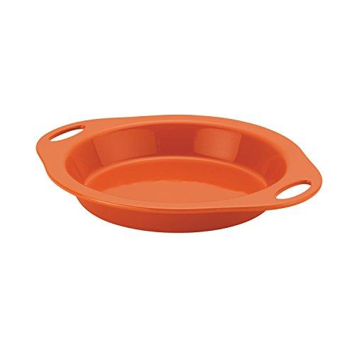 Rachael Ray 58688 Stoneware Pie Pan 9 Orange