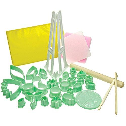 34-Piece Fondant Tool Set
