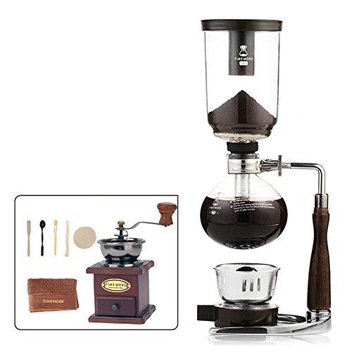 Royal- Siphon Coffee Maker Kit Manual Coffee Machine  Color  Five People Servings