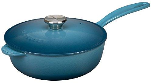 Le Creuset Enameled Cast-Iron 3-Quart Saucier Pan Marine