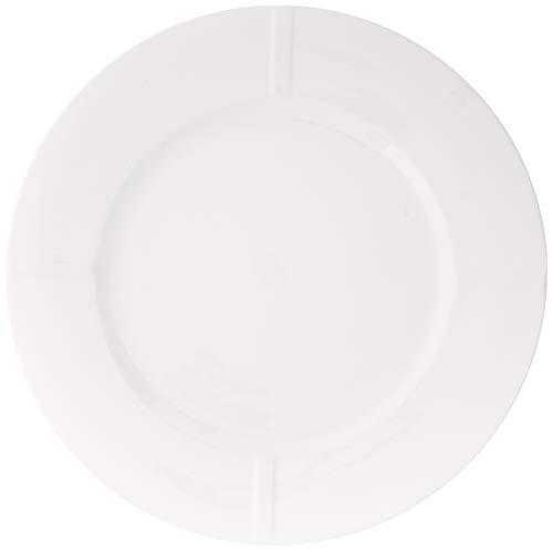 Kosta Boda Bruk 1063 Inch Bone China Plate White