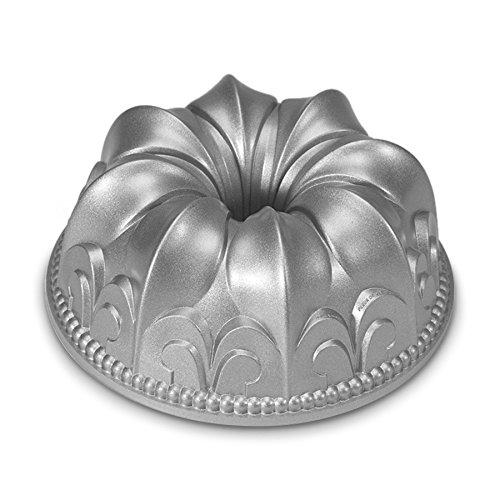 Nordic Ware Non-Stick Cast Aluminum Fleur De Lis Bundt Pan