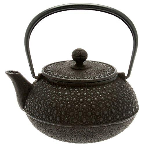 Iwachu Japanese Iron Tetsubin Teapot 30-Ounce Black Honeycomb
