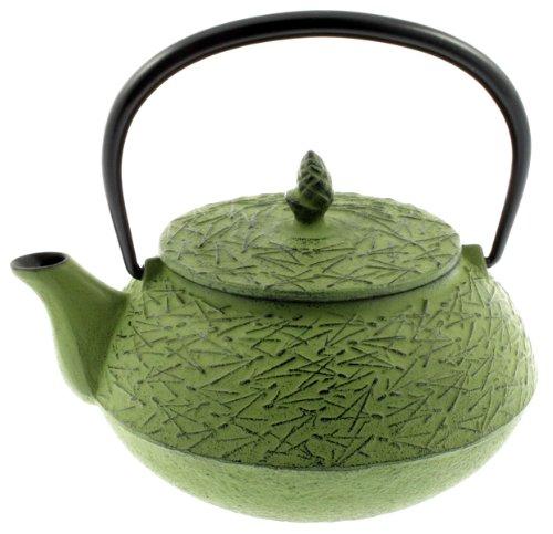 Iwachu Iron Teapot Tetsubin Green Pine Needle