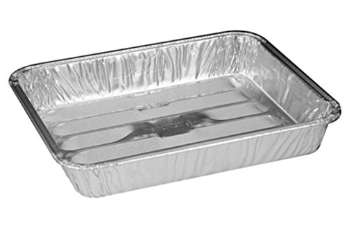 Handi-Foil 8 x 7 x13 Small Mini Toaster Oven Broiler Baking Pan pack of 10