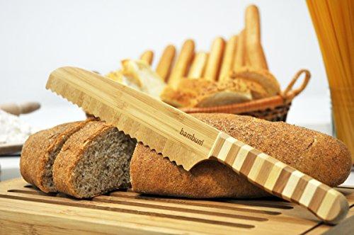 Bambum - Bamboo Bread Knife