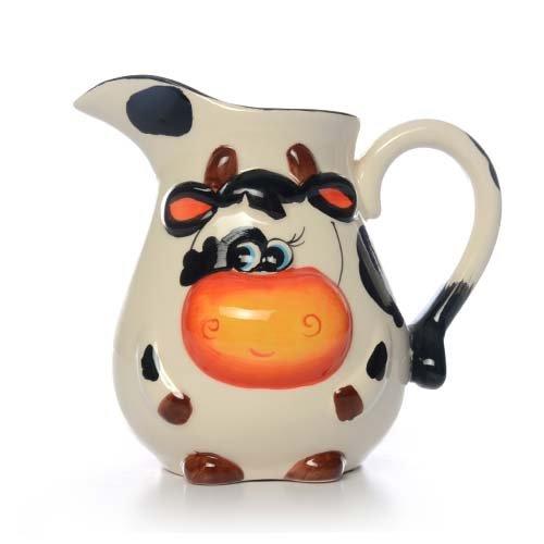 27oz Ceramic Cow Jug 17x13x155cm 550g Case of 18