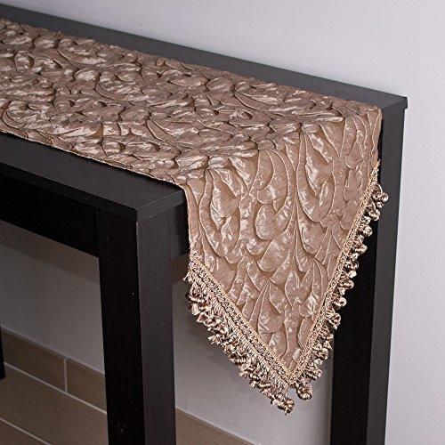 Sherry Kline Canyon Embossed Luxury Table Runner 13 x 90