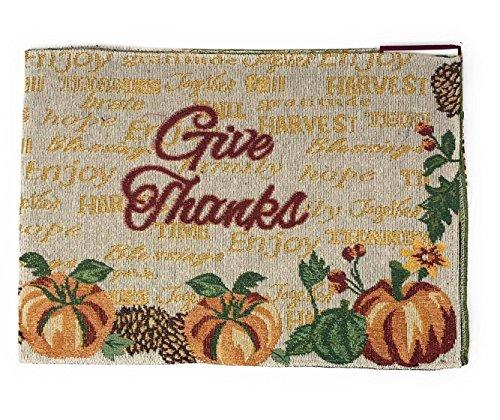 72 Harvest Give Thanks Thanksgiving Table Runner Harvest Script