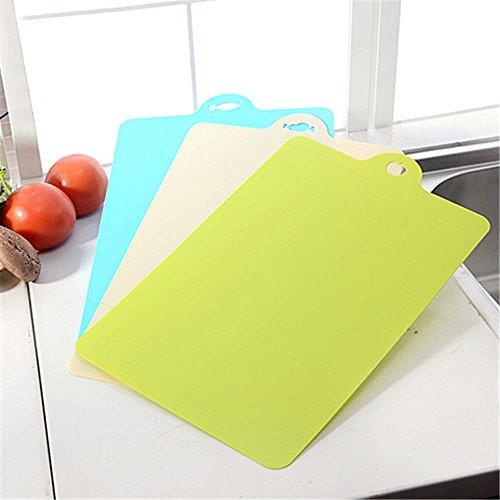 Daeou Hanging kitchen chopping board antibacterial cutting board chopping board three pieces