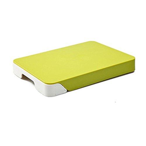 Daeou Kitchen multifunction drawer storage chopping block double cutting board antibacterial cutting board plastic chopping board