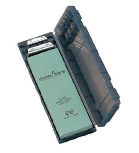 mino Sharp Whetstone sharpening stone kit coarse green