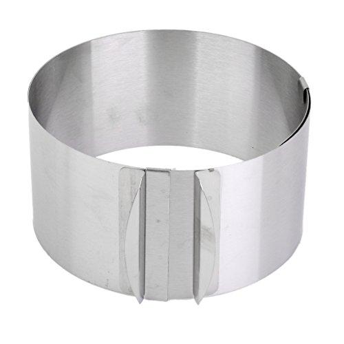 Adjustable 6-12 Inch Mousse Layered Cake Mold Baking Ring