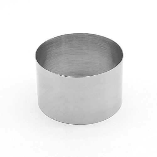 ufengke 35 Inch Thickened Stainless Steel Mousse Ring Cake Ring Mold Baking Tool
