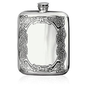 ENGLISH PEWTER COMPANY CEL179 6oz Pewter Hip Flask