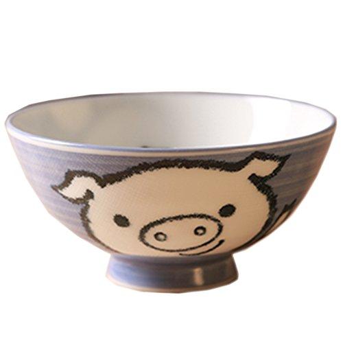 Baby Pig Design Multifunctional Creative Ceramic Bowl Cute Bowl