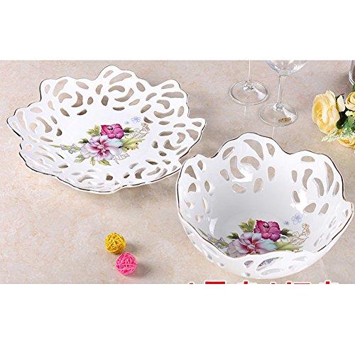 Living Fruit PlateCreative Ceramic BowlsDried Fruit Tray-C