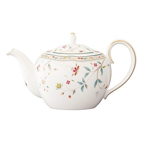 Noritake bone china flower calico teapot small T50523A4409 japan import