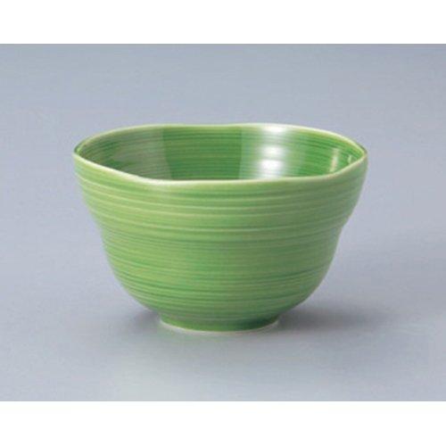 Ramen Soba Udon Noodle Bowl utw411-20-634 47 x 28 inch Japanece ceramic Green glaze comb eyes small bowl tableware