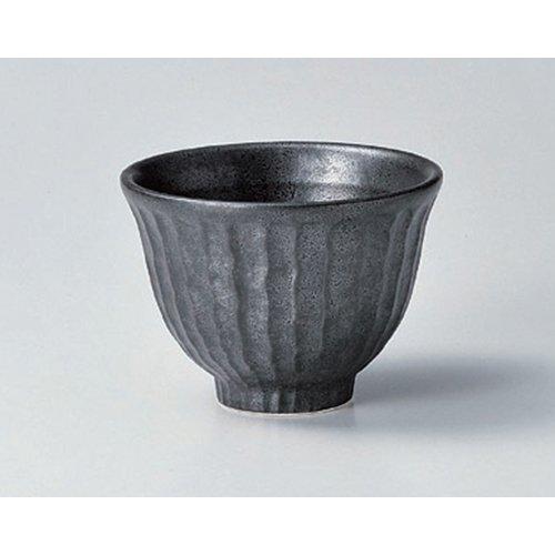 Ramen Soba Udon Noodle Bowl utw411-31-114 48 x 35 inch Japanece ceramic Crystal black stripped 40 bowl tableware